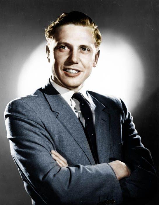 A young Sir David Attenborough