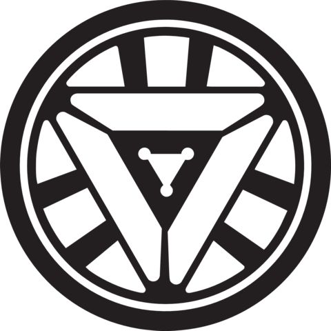 Marvel - Tony Stark Arc Reactor Vinyl Decal 1