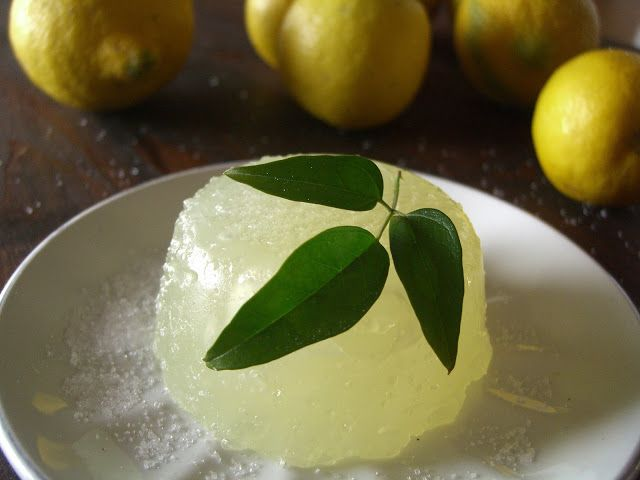 Tasting Sicily: SICILIAN LEMON JELLY RECIPE