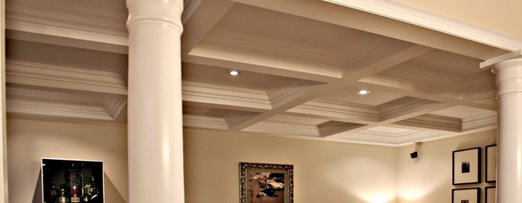 Wainscoting Wall Paneling MDF Raised Panel Wainscotting Flat - Cornice crown moulding toronto wainscoting coffered ceiling