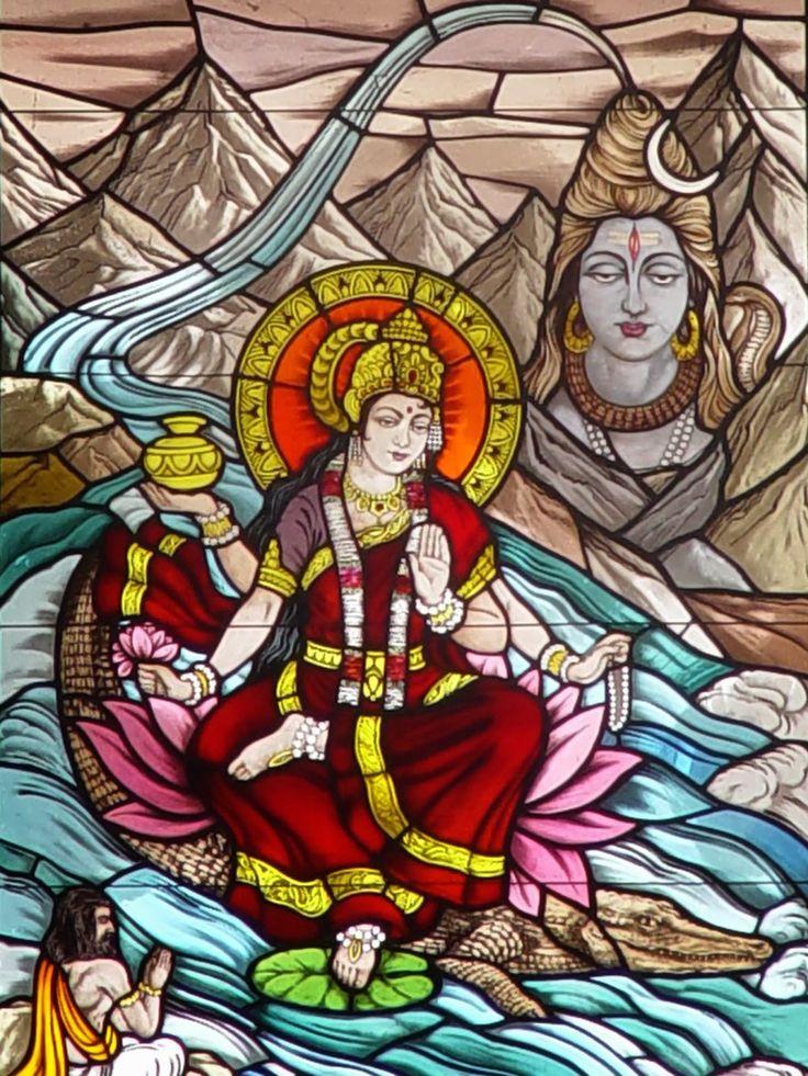 Ganga maya (With images) Indian art paintings, Art template