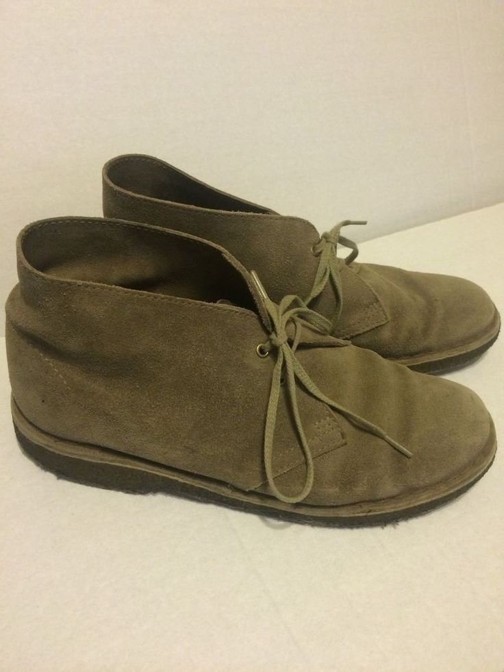 CLARKS ORIGINALS WOMENS BROWN DESERT BOOTS SZ 8.5 GB 6.5 #CLARKS #DESERTBOOTS #Casual