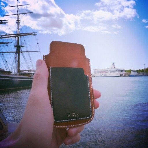 Our third stop in #Helsinki -> etsy.me/1Fjvzpl <- Escape the ordinary. #bevivid #leathercase #finland #iphonecase #iphone5 #leather
