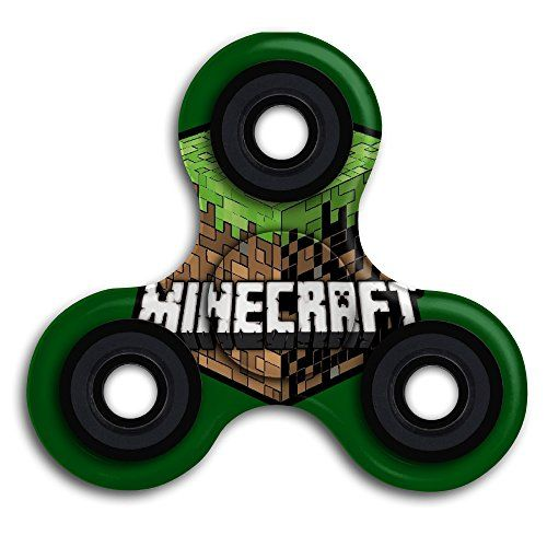 Cheap price ELEMA Minecraft Fidget Spinner Finger Toy For Stress And Anxiety Relief on sale