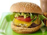 Bobby Flay's L.A. Burger... with Avocado Relish: Tasty Recipe, Food Network, Bobby Flay, Burgers Yummy, Burgers Recipe, Avacado Burgers, Summer Recipe, La Burgeryummi, Favorite Recipe