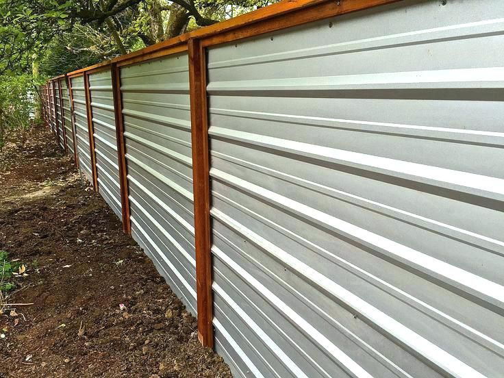Corrugated Metal Retaining Wall Why Corrugated Steel Building A Corrugated Metal Fence Metal Fence Panels Cheap Privacy Fence