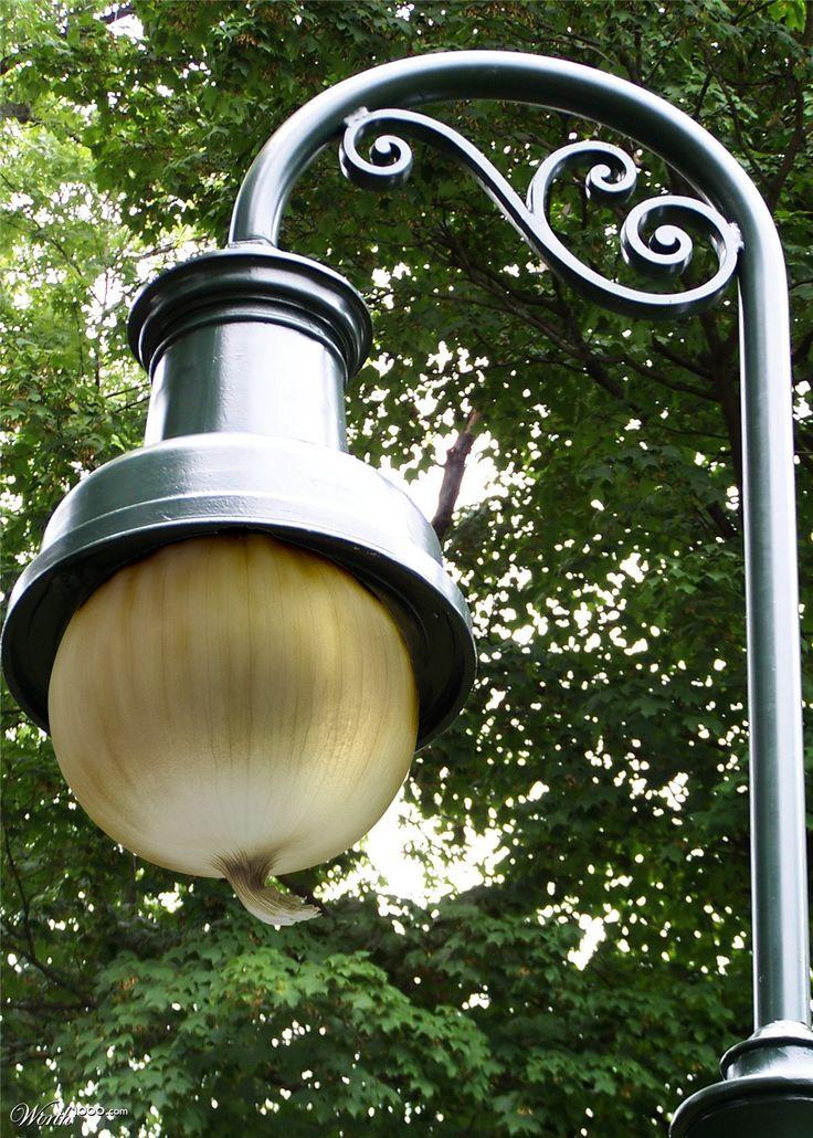 Onion street light - Worth1000 Contests