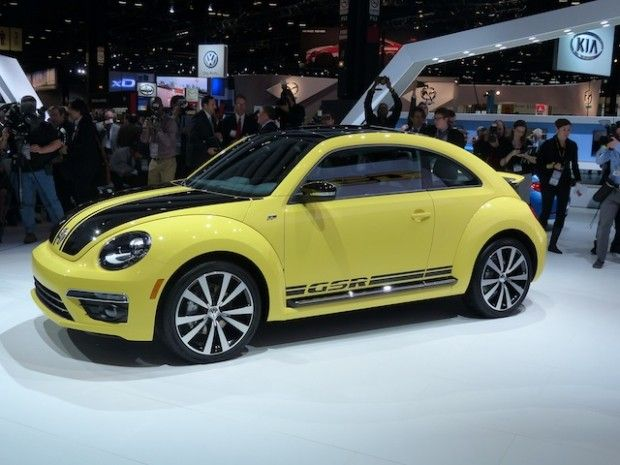 The #Limited-Edition #2014 #Volkswagen #Beetle #GSR Is a Car #Bumblebee Would #Love - click to see more.