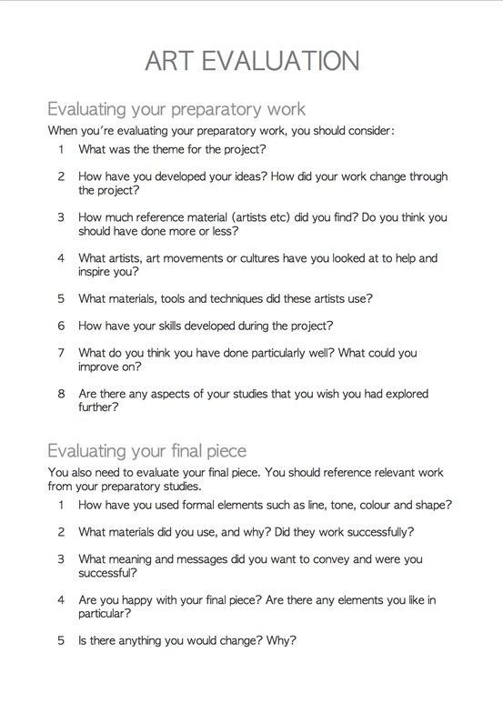35 best Fine Arts Ideas images on Pinterest School, Spanish - sample instructor evaluation form