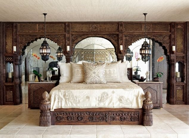 Nomadic Decorator | Cher's Indian Fantasy Home | http://nomadicdecorator.com