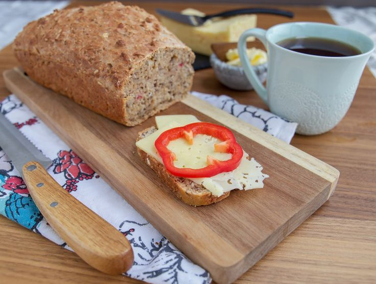 Drömstadslimpa- Snabbakat bröd