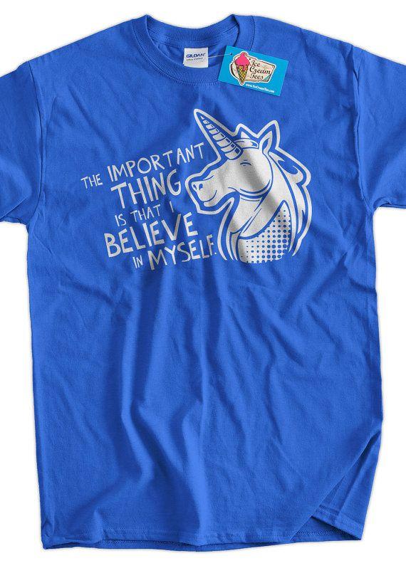 Unicorn T-Shirt Unicorns Magic Funny Unicorn by IceCreamTees