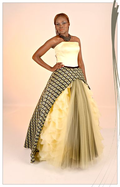AfroRust - African Inspired Wedding Dress Design House | Ivory Coast