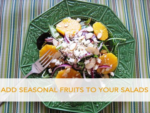 easy fruit salad fruits and vegetables in season