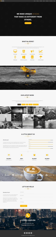 Haira – Creative Multipurpose WordPress Theme Download