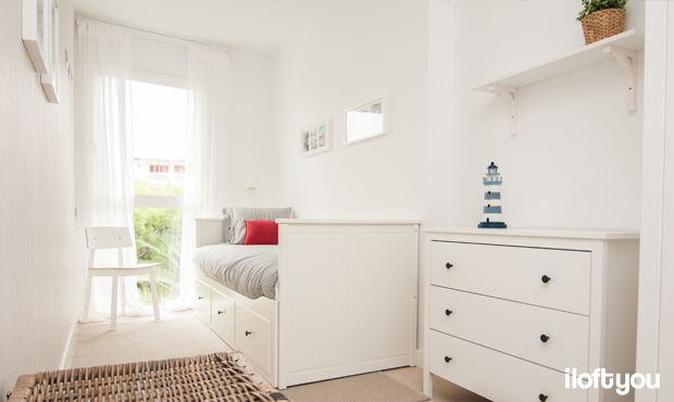 #proyectositges #iloftyou #interiordesign #ikea #sitges #lowcost #catalunya #beach #bedroom #hemnes #nyponros #sigurd #matilda #ribba #osted