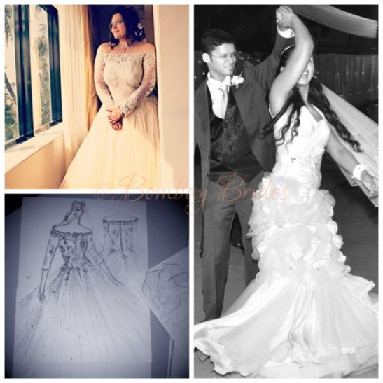 Michelle Rodrigues bridal designs