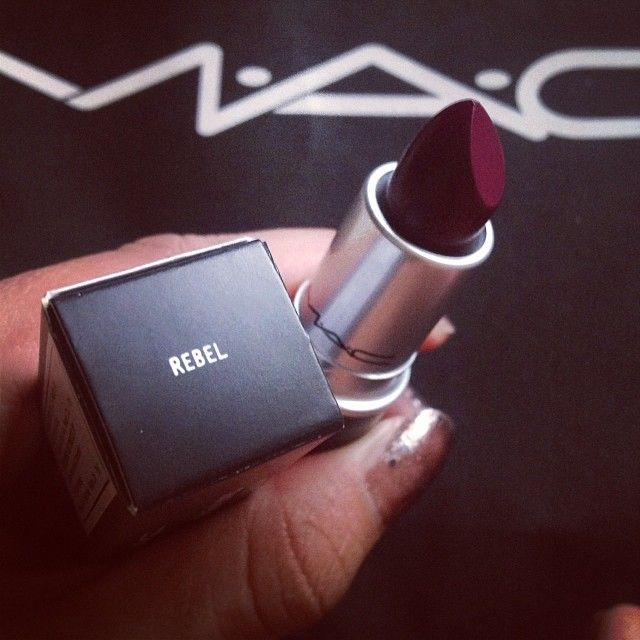 My New Mac lipstick- Rebel