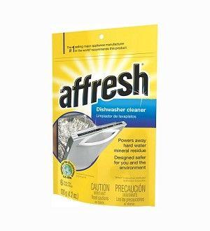 Whirlpool Affresh Dishwasher Cleaner | 6 Tablets | W10282479