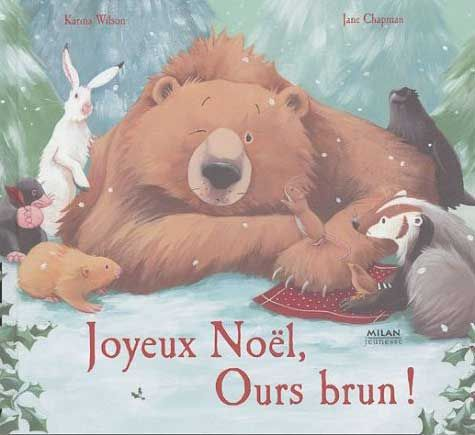 Joyeux Noel ours brun