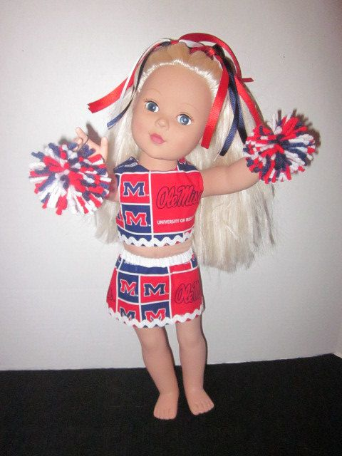 Ol Miss University of Mississippi American by SweetpeasBowsNmore, $15.00