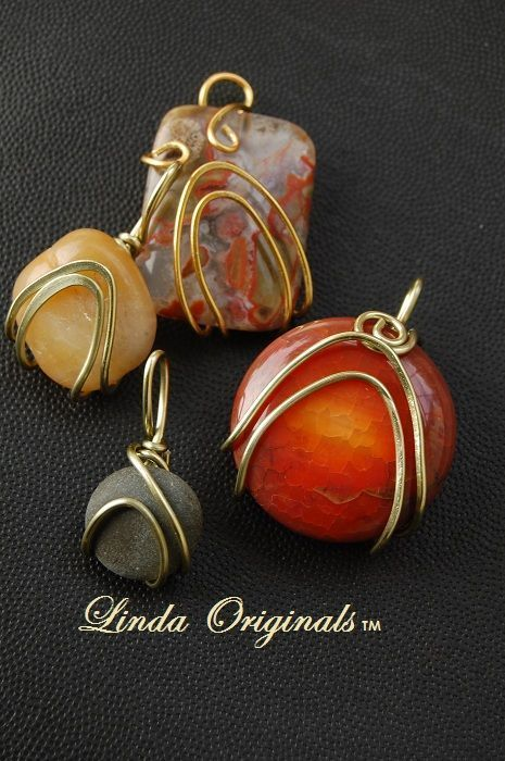 Wrap your Rock   JewelryLessons.com This tutorial as over 300 downloads! So easy, make it yourself!