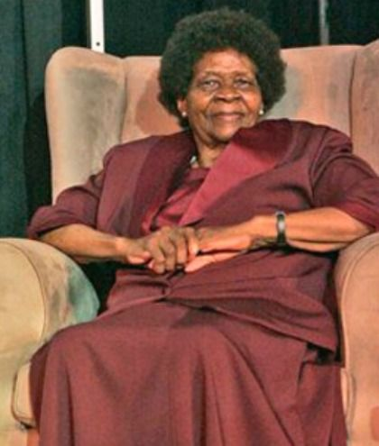 Albertina SISULU The wife of Walter Sisulu (who spent 25 years alongside Nelson Mandela at Robben Island and is a major figure in anti-apartheid activism), Albertina didn't want to get involved in politics initially, but supported her husband's pursuits. She inevitably joined the African National Congress and went on full throttle: She became a member of the executive board of the Federation
