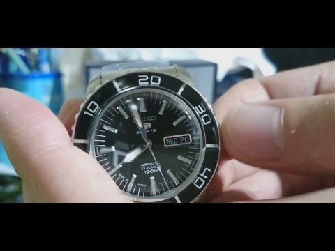 Unboxing Seiko 5 Sports Automatic Watch SNZH55 SNZH55J1 http://luxuswatches.ru/2017/04/21/unboxing-seiko-5-sports-automatic-watch-snzh55-snzh55j1/