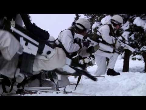 Försvarsmaktens vinterförmåga - YouTube