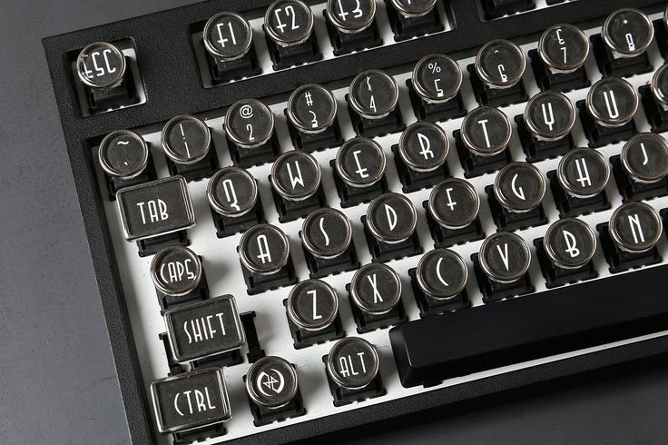 Datamancer Typewriter Keys - Massdrop