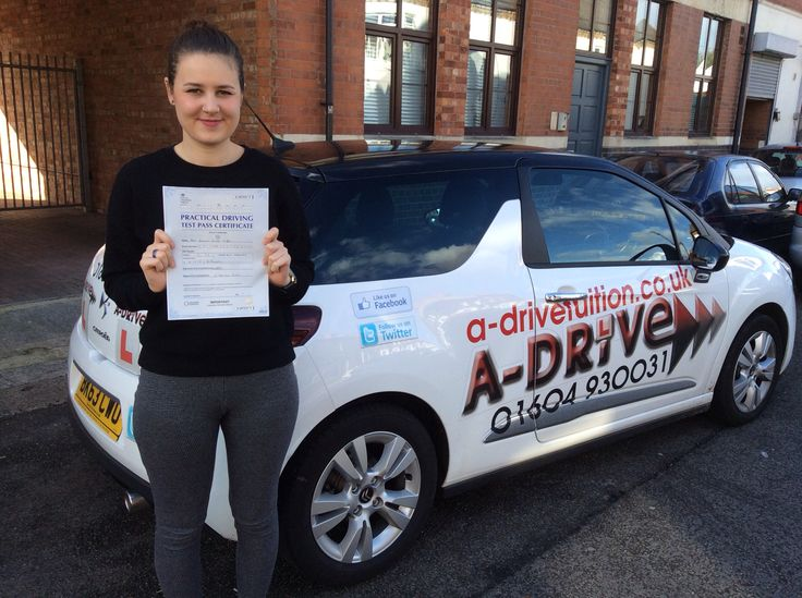 "MORE DRIVING TEST SUCCESS!!!!  Congratulations to Hannah Griffin of Northampton General Hospital who passed her practical driving test 21/10/14 with only 5 minor driving faults at Northampton Driving Test Centre with Andrew Batty of www.adrivetuition.co.uk  #Driving #Adrive #DrivingTest #DrivingSchools #DrivingLessons #DrivingInstructors #Northampton #Daventry #Towcester #Wellingborough   Hannah said ""I really enjoyed being taught by Andrew, very patient, reliable and easy to understand :) """