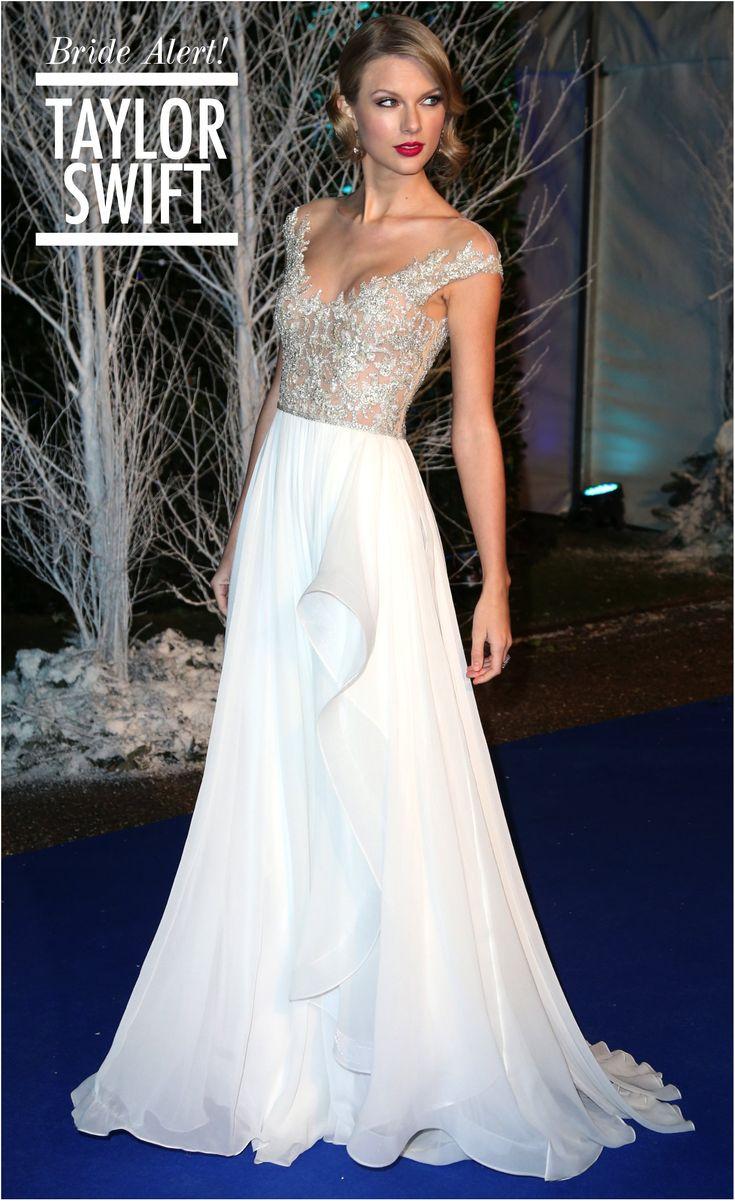 O vestido de noiva da Taylor Swift | Fashionismo | Thereza Chammas