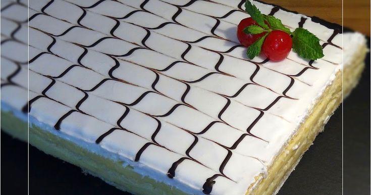 La cocina de Loli Domínguez: Tarta o pastel milhojas Napoleón