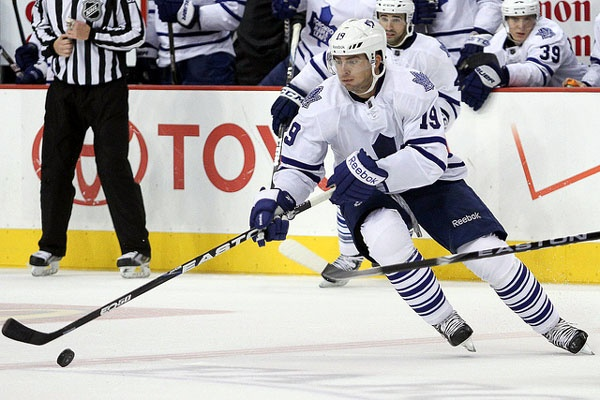 Joffrey Lupul was born in Fort Saskatchewan, Alberta. He is 28-years-old and previously played with the Anaheim Ducks, Edmonton Oilers and Philadelphia Flyers.