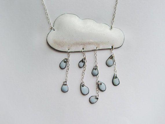 Weather Necklace Rainy