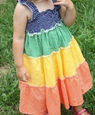 free - Rainbow Dress