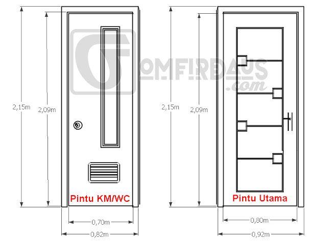 Ukuran Standar Pintu Rumah Minimalis Yang Ideal | Pintu in ...
