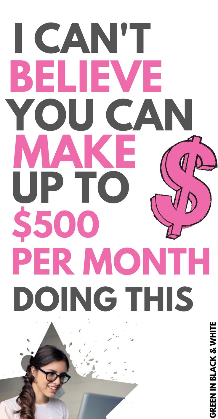 This post looks at how you can make up to $500 per month with the best paid surv… – Creative Ways to Make Money