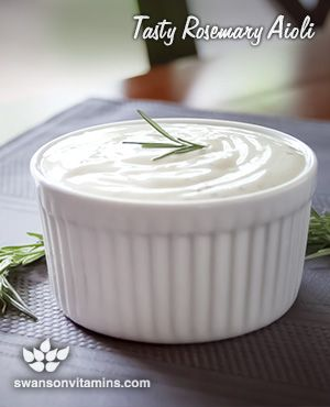 Salad dressing, dipping sauce or burger topping, this rosemary aioli will amp up the flavor of your favorite dishes!