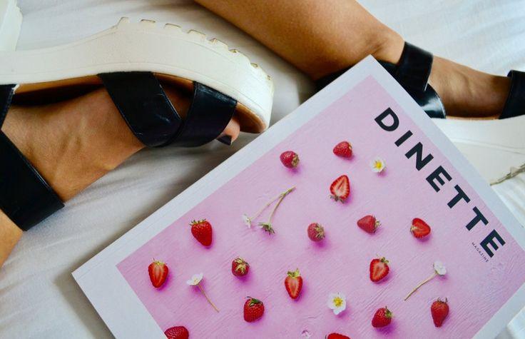 Le nouveau @dinettemagazine est sorti, et voici ce qui t'attend derrière cette couverture toute rose.
