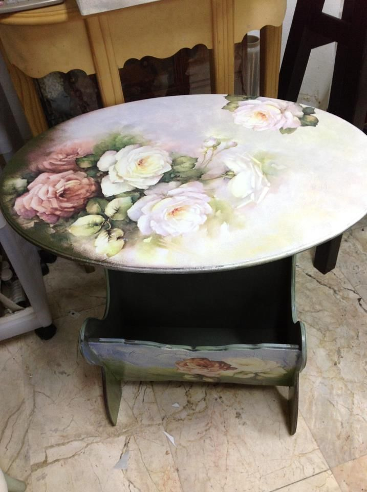 Rose Decoupage
