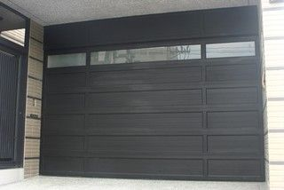 Modern Garage Door and Gates www.garagedoor4less.com #Modern Garage door #clopay #Avante