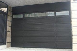 Modern Garage Door and Gates www.garagedoor4less.com #Modern Garage door #clopay #Avante