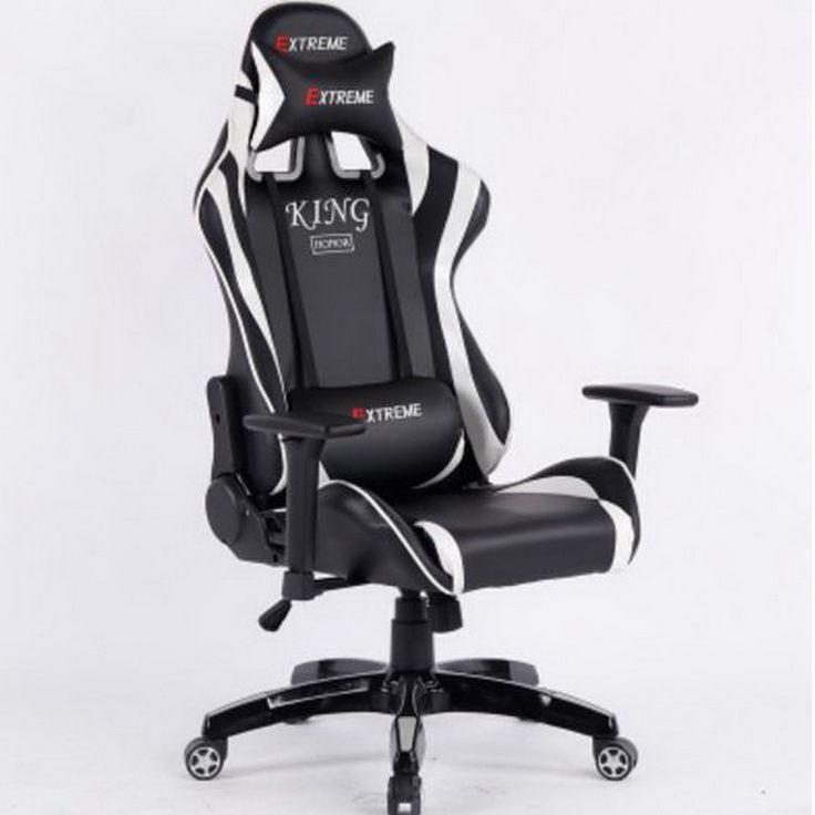 L350112/silla de Trabajo de oficina/360 grados de rotación/pasamanos Fijo/Esponja de alta densidad de llenado/Jefe de oficina silla/silla de juegos En Casa