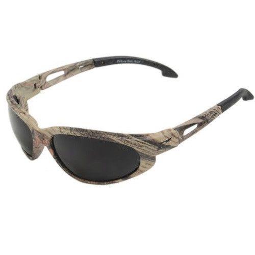 Edge Eyewear Dakura Polarized Forest Camouflage/Smoke Lens