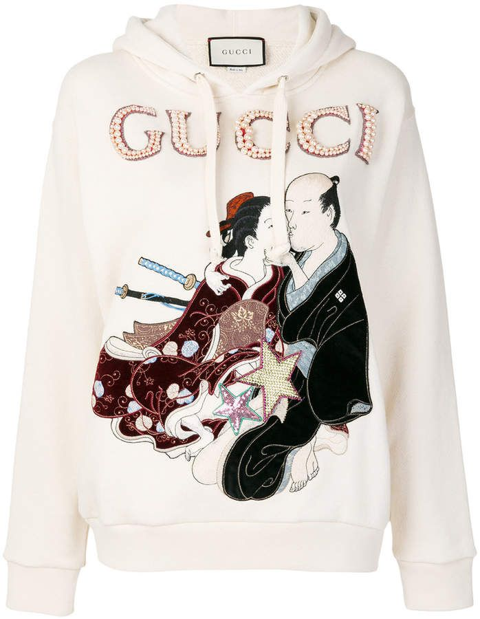 8377dbdcd Gucci embroidered japanese motif hoodie | japanese 2018 in 2019 ...