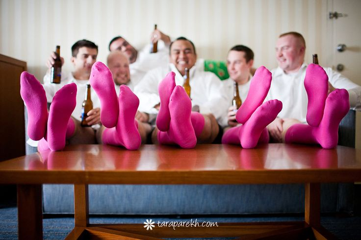Photo inspiration for the groomsmen who aren't afraid to make a bold color statement   Tara Parekh Photography
