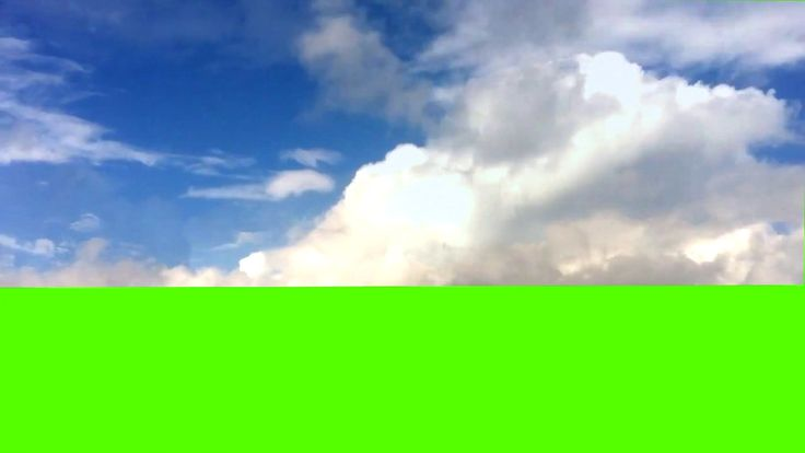 GREEN SCREEN CLOUDS, SKY, SONY Vegas Pro, Adobe After Effects, VIDEO EDI...