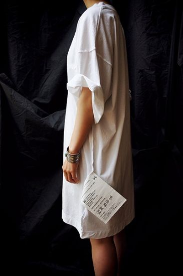 MM6 by MAISON MARTIN MARGIELA ( FRANCE ) LOOSE BIG TEE - ...lancah