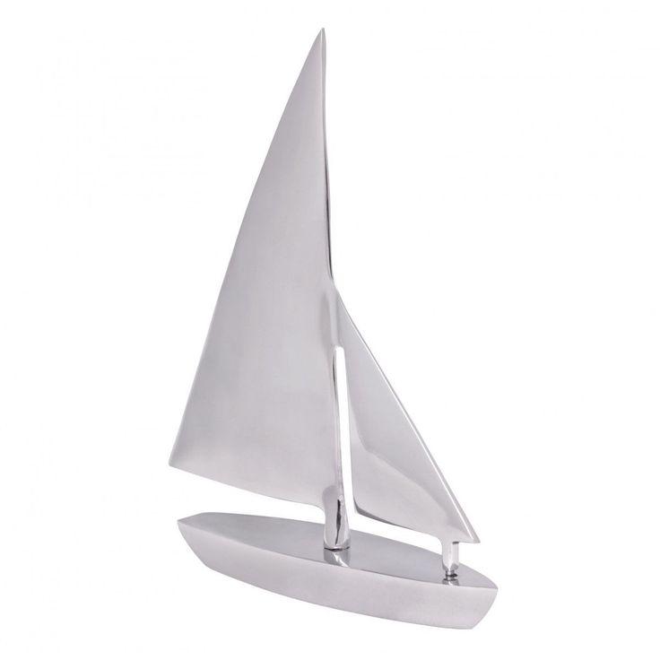 WOHNLING Deko Segelboot Aluminium Design Segelyacht Silber Wohndeko Klipper Esstisch-Dekoration Sege Jetzt bestellen unter: https://moebel.ladendirekt.de/kueche-und-esszimmer/tische/esstische/?uid=0876450c-a3a4-5c9a-a7bf-3e90529ad805&utm_source=pinterest&utm_medium=pin&utm_campaign=boards #möbel #kueche #esstische #einrichtung #deko #esszimmer #tische